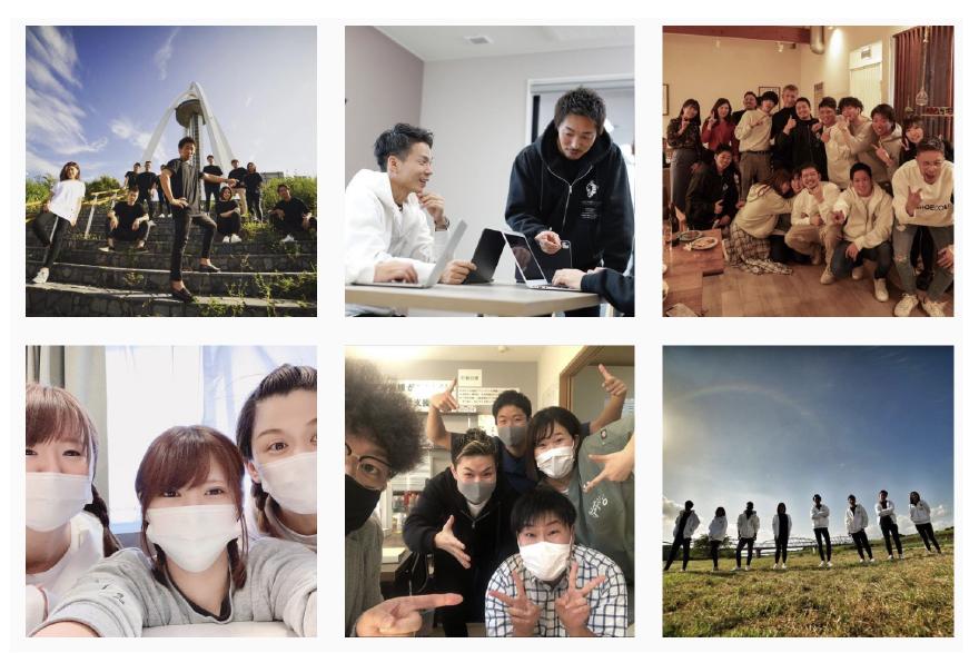 HIDAMARI GROUPのインスタグラムはこちら